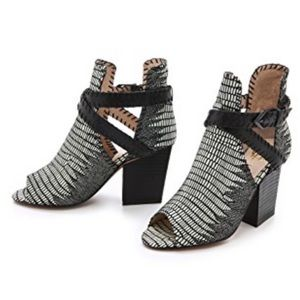 House of Harlow 1960 Booties. Size 9.5